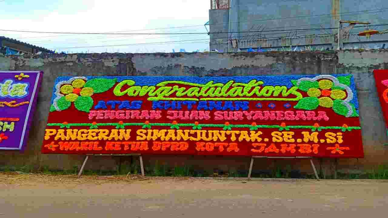 papan dobel congratulation jambi