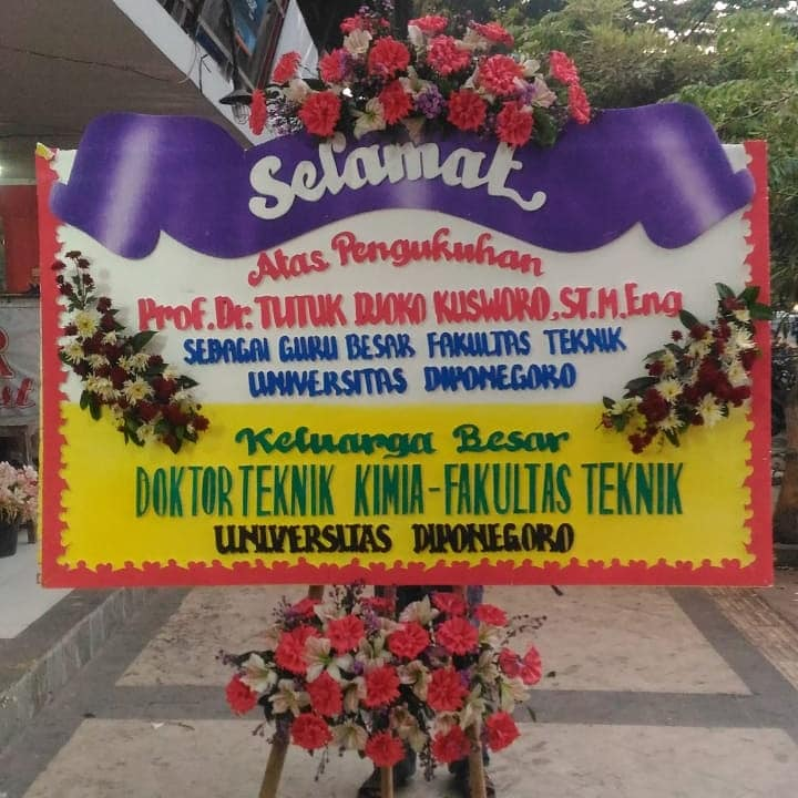 papan bunga semarang